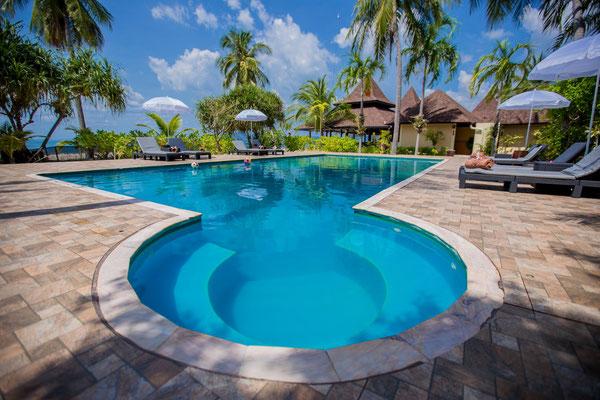 Sivalai Beach Resort auf Koh Mook - Swimmingpool