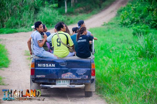 Safari im Kui Buri-National-Park