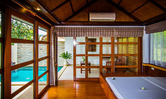 Zimmer-Kategorie Pool Villa