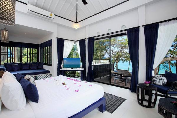 Wer träumt hiervon nicht? Urlaub in Thailand, auf einer Insel und dann in so einem Strandhotel?