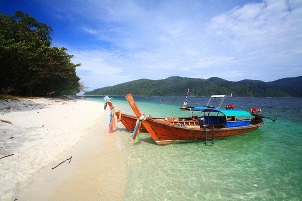 Strand auf Koh Adang