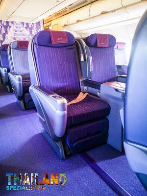 TG241 Business Class  Royal Silk Banfkok to Krabi Airbus A330