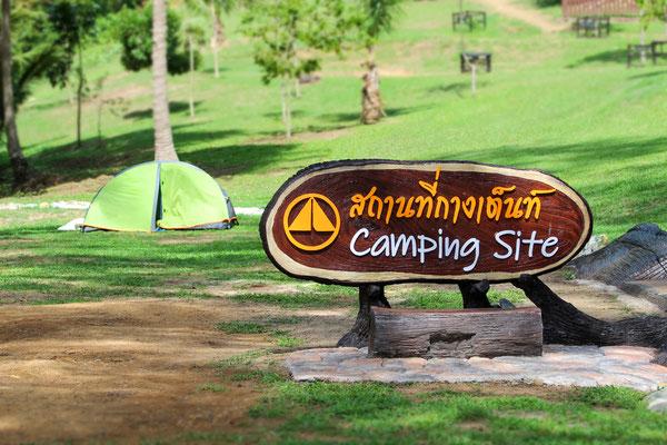 Campingplatz im Nationalpark