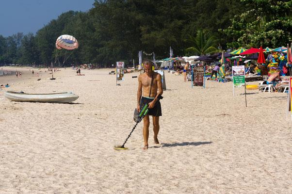 Schatzsuche Phuket Strand
