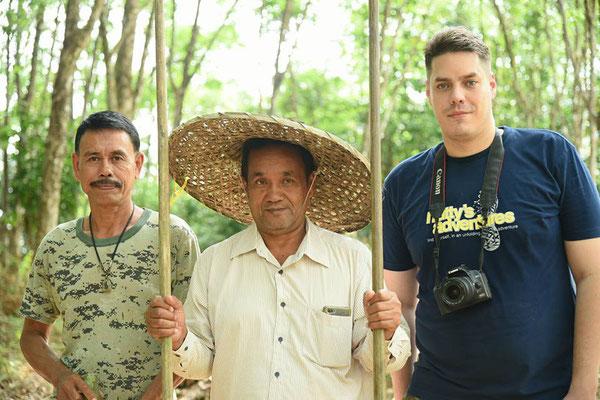 Julian Kappes unterwegs in Thailand
