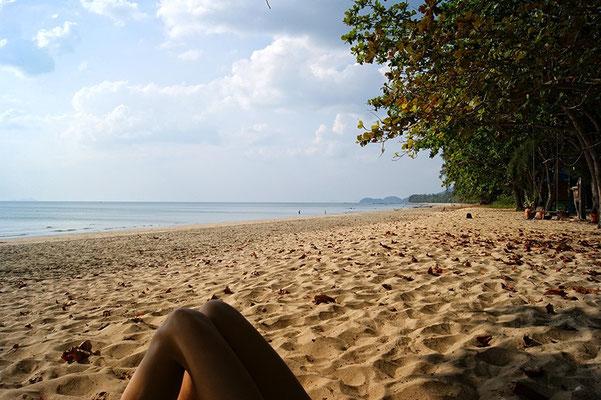Strand auf der Insel Koh Jum