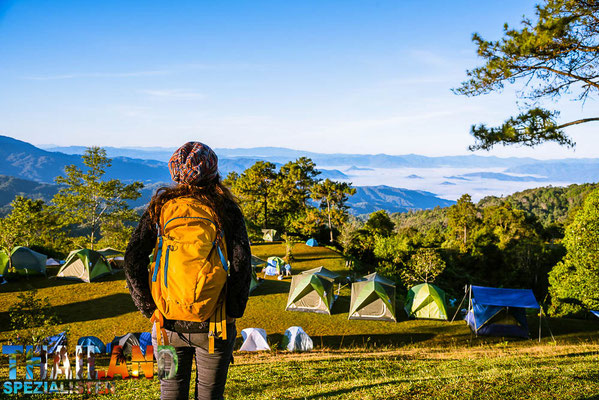 Camping als Frau in einem thailändischen Nationalpark