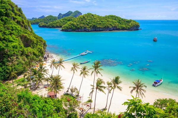 Koh Samui - beliebt und begehrt. Ausflugsmöglichkeiten oder Sonnen am Strand, diese Insel bietet vieles