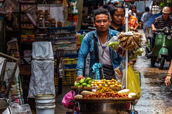 Auf den Strassen von Bangkok