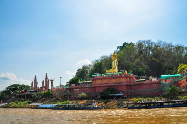 """Das """"Golden Triangle"""" gehört einfach dazu. Eine besondere Sehenswürdigkeit in der Provinz Chiang Rai"""