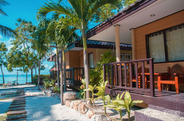 Koh Tao Resort Beach Zone and Paradise Zone - Strandbungalows