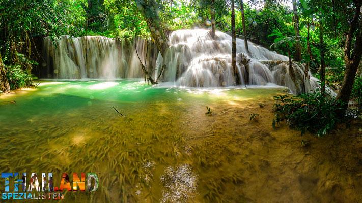 Mae Kae Wasserfall im Ngao Nationalpark