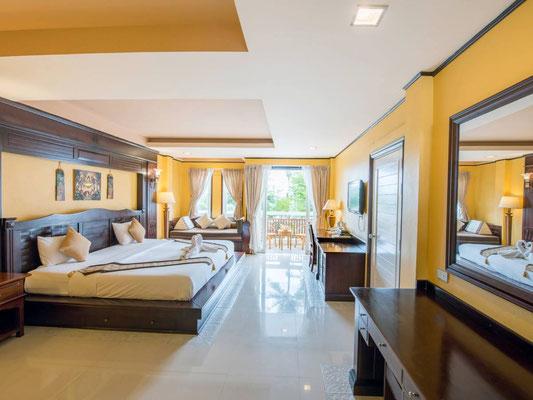 Koh Tao Montra Resort Zimmerkategorie Deluxe Pool-View