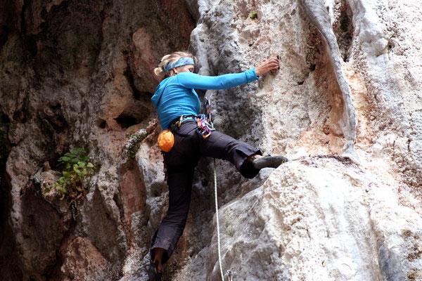Klettern am Railay Beach Krabi
