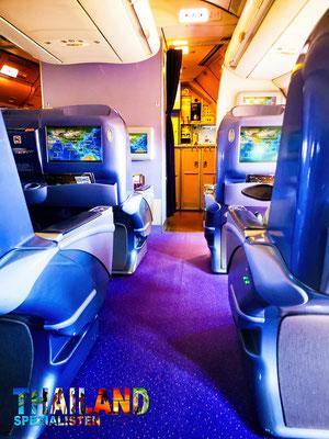 TG241 Business Class  Royal Silk BKK -KBV Airbus A330