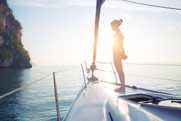 Luxus-Segeltour in Südthailand