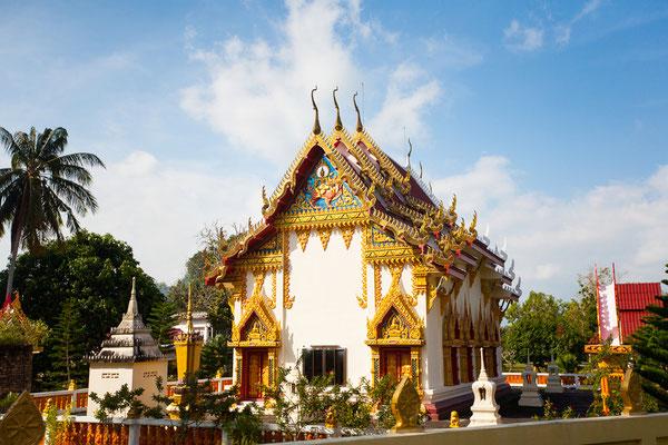 Auch wundervolle historische Tempel sind auf der Insel Koh Phangan zu finden