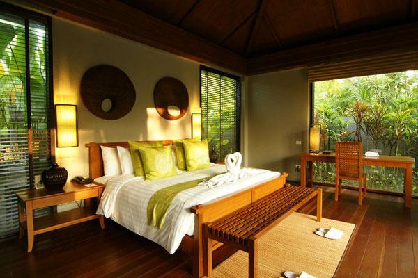 Das Pattara Hotel in Phitsanulok - Zimmerkategorie Pool Villa