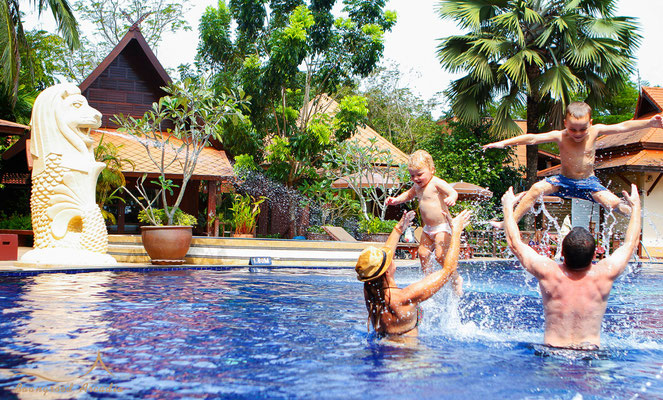 Grood Aracadia Resort ist gut geeignet für Familienurlauber