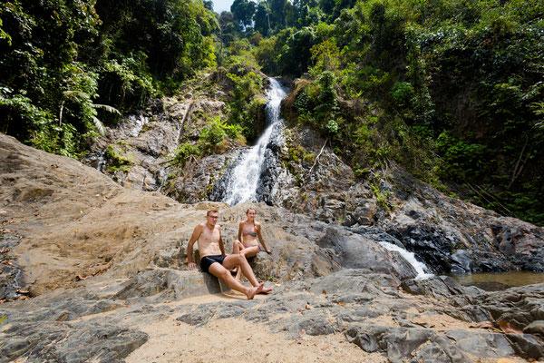 Huai Wasserfall Südthailand Tour