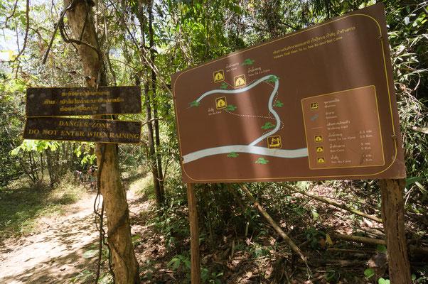 Südthailand Trek