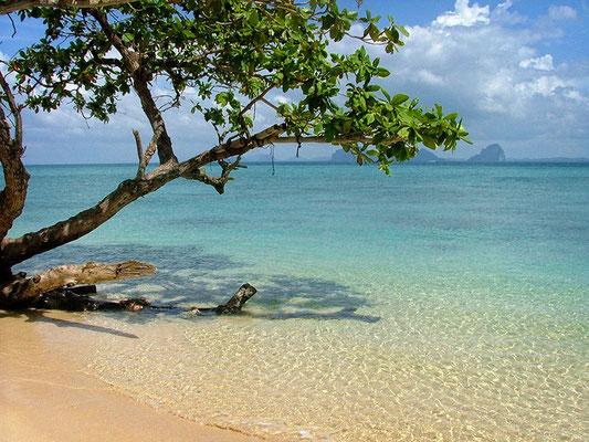 Strand auf der Insel Koh Hai