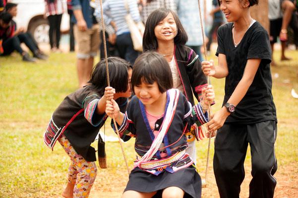 Akha swing festival