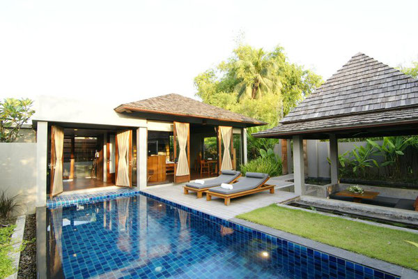 Pattara Hotel in Phitsanulok Privat Pool