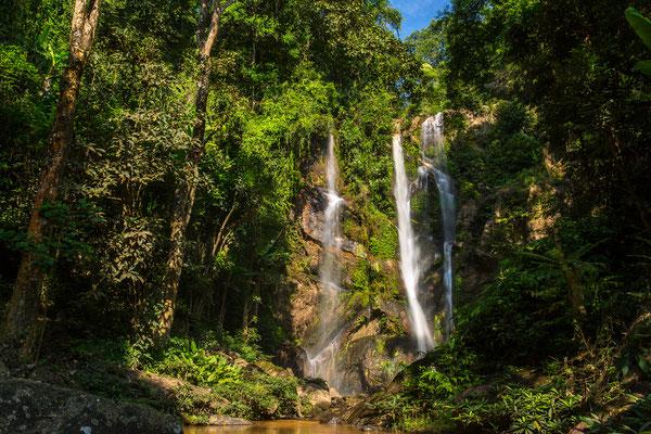 Mok Fa Wasserfall in Nordthailand
