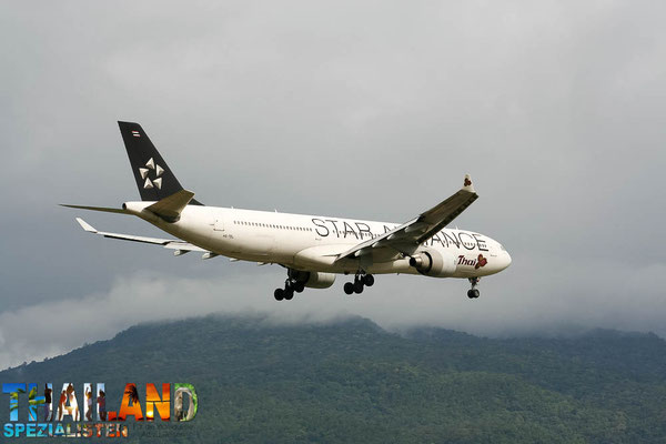 Airbus A330-300 von Thaiairway BKK to CNX