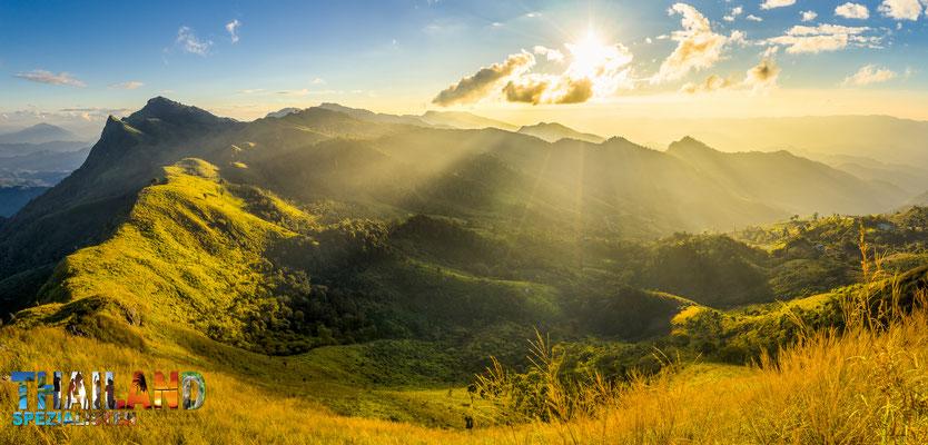 Die Bergwelt im Hohen Norden zwischen Chaing Mai und Chiang Rai bis zu Mae Hong Son - Für Naturfreunde und Trekking-Liebhaber optimal!