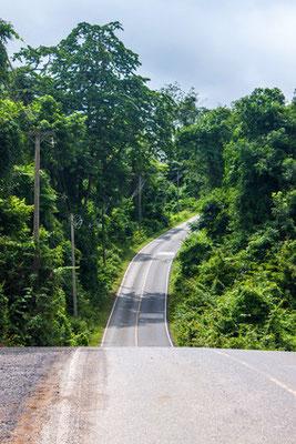 Schöne Straßen führen durch den Nationalpark