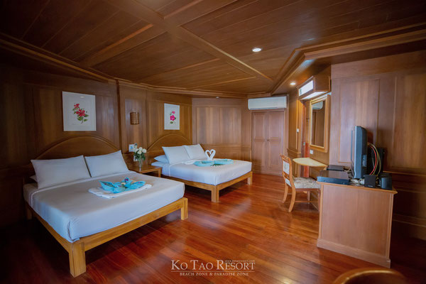 Koh Tao Resort Beach Zone and Paradise Zone - Zimmerbeispiel
