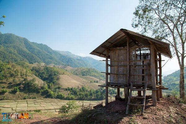 Landschaft in der Nan-Provinz