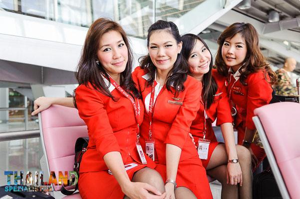 Tha Air Asia Crew