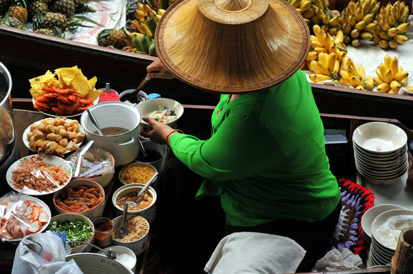 Floating Market Thailand, Damnoen Saduak