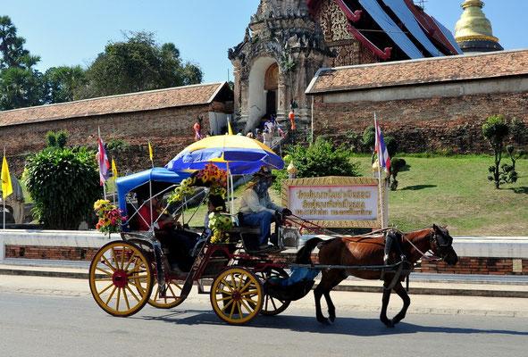 Pferdekutschen in Lampang