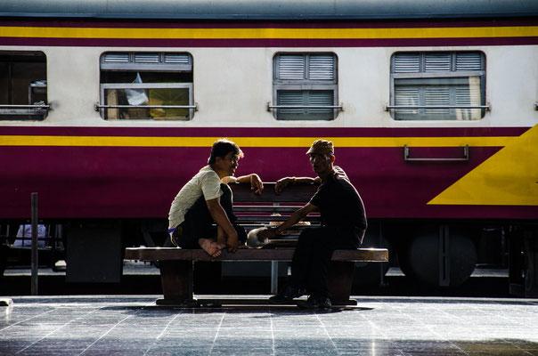 Thais am Hua Lamphong Trainstation