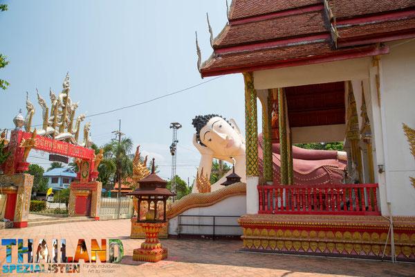 Tempel in Chiang Khong