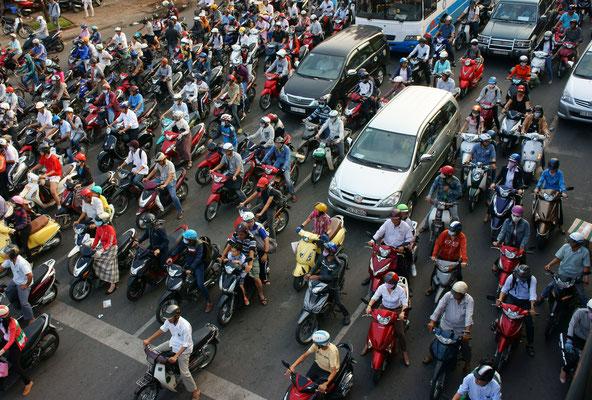 Rush hour Hanoi