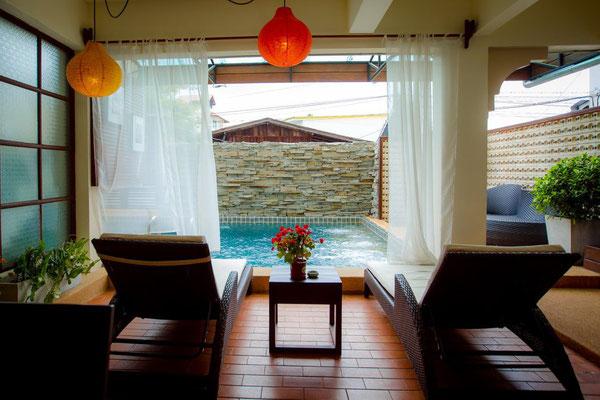 Gutes und sauberes City-Hotel mit Pool