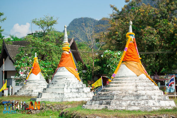 Drei Pagoden Pass in Sangkhla Buri
