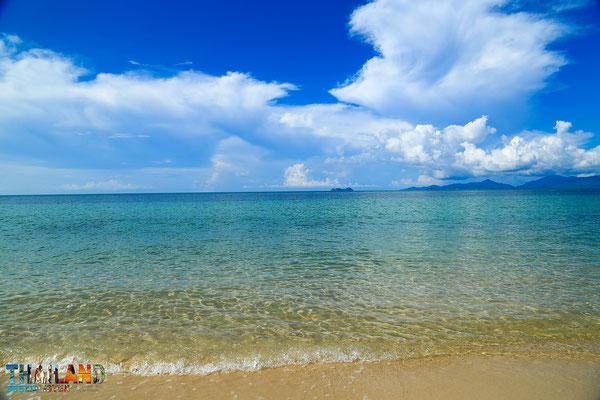 Koh Samui Mae Nam Beach wo das Coco Palm Beach Resort auch sich befindet.