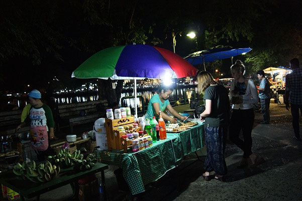 Nachtmarkt in Mae Hong Son