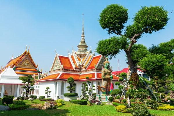In der Nähe vom Wat Arun