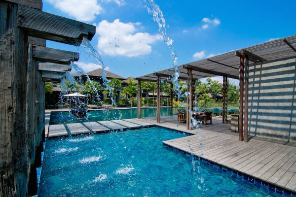 Pattara Resort & Spa Phitsanulok der Swimming Pool