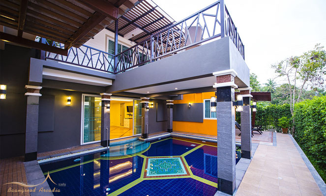 Grood Aracadia ResortFamily Pool Villa