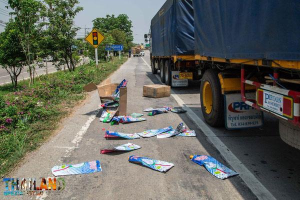 Unfallrisiko auf thailändischen Straßen