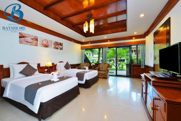 Phangan Bayshore Beach Resort auf Koh Phangan - Zimmerbeispiel