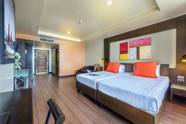 Bangkok Cha-Da Hotel - Zimmerkategorie Dekuxe